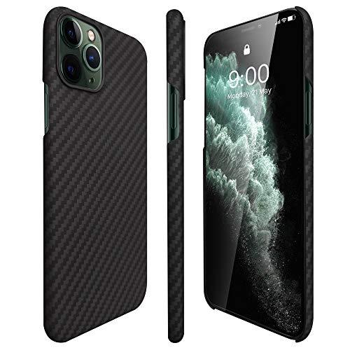 AIMOSIO Compatible with iPhone 11 Pro Case,5.8'' Slim 3D-Grip Aramid Fiber Minimalist Phone...