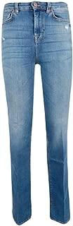 7 for All Mankind Luxury Fashion Womens JSQNU580BU Blue Jeans | Spring Summer 19