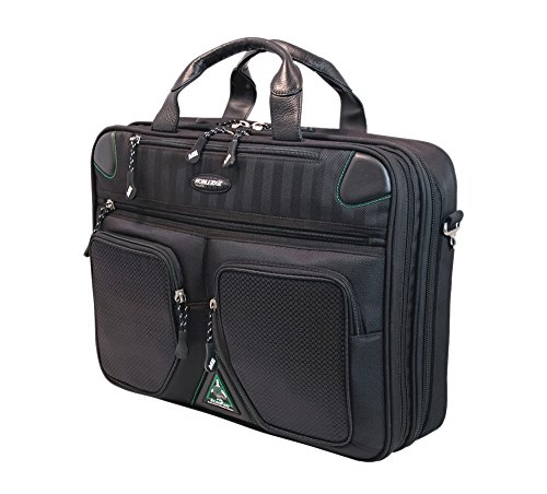 of xbox one briefcases Mobile Edge ScanFast Checkpoint and Eco Friendly Laptop Briefcase 16 Inch PC, 17 Inch Mac for Men, Women, Business Travel, Student, Black MESFBC2.0