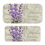 Postcard Vintage Postcard Composition Grunge Display Flowers Gray Purple Nintendo Switch用ゲーム機ステッカー-アンチスクラッチアンチ指紋PVC素材