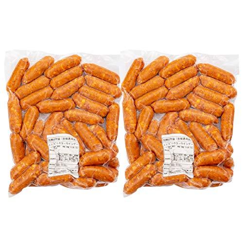 琉球ミート ウインナー ピリカラウインナー 6cm 1kg×2 ソーセージ ピリ辛 豚肉 沖縄
