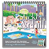 Sticker & Chill Sticker Book for Adults –...