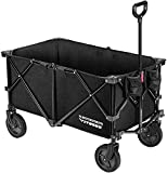 VIVOSUN Heavy Duty Collapsible Folding Wagon Utility Outdoor Camping Garden Cart...