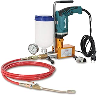 CONREPAIR Injection Pump High Pessure Grouting Injection Pump for Epoxy Resin and Polyurethane Foam Electric Drill Operated220V (Makita Drill Model HP1630k & HP2070F)