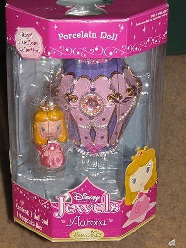 Brass Key Disney Princess Jewels - Aurora Porcelain Doll by Brass Key