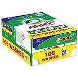 Ariel Cápsulas líquidas de lavado todo en 1 de color, 105 cápsulas