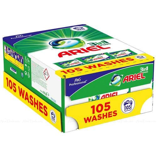 Ariel Kleur Alles-in-1 Pods Wassen Vloeibare Capsules - 105 Capsules