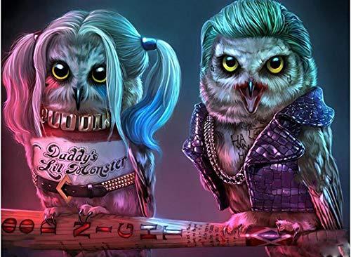 51mO5aDbEnL Harley Quinn Paintings