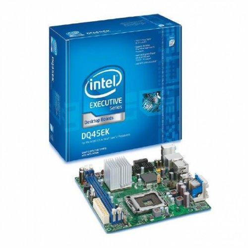 Intel BOXDQ45EK LGA775/ Intel Q45/ DDR2/ A&V&GbE/ Mini-ITX Motherboard