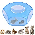 ADOGGYGO Guinea Pig Rabbit Cage Pet Playpen with Cover Small Animal Play Pen Portable Exercise Fence Pet Tent for Guinea Pig Bunny Hamster Chinchillas, Hedgehogs Reptile Kitten