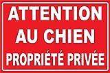 tsme Attention au Chien propriété privée