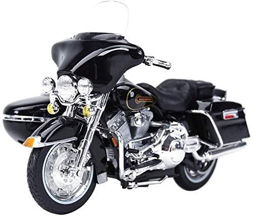 SHOP YJX Spielzeug-Modell Harrera Drei-Rad-Simulation Static Alloy Motorrad-Modell-Schmuck-Geschenk-Ansammlung...