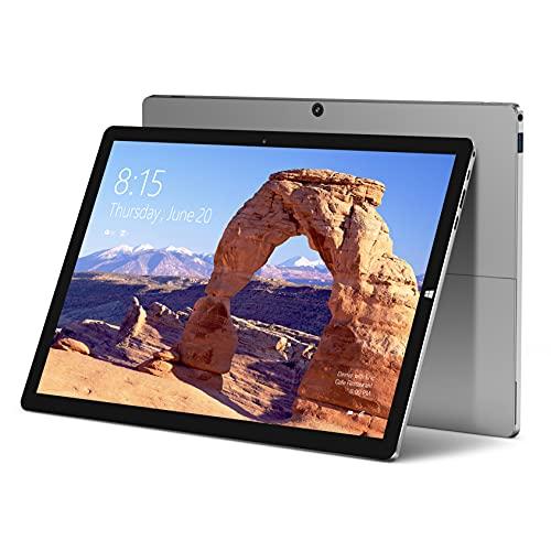 "TECLAST X6 Plus Ordenador Portátil 2 en 1 Tablet PC Windows 10 12.6"" 2880x1920, 8GB ROM+256GB SSD, Cámara 2+5MP+Type C+Bluetooth+WiFi+38000mWh (No Incluye Teclado y Stylus)"