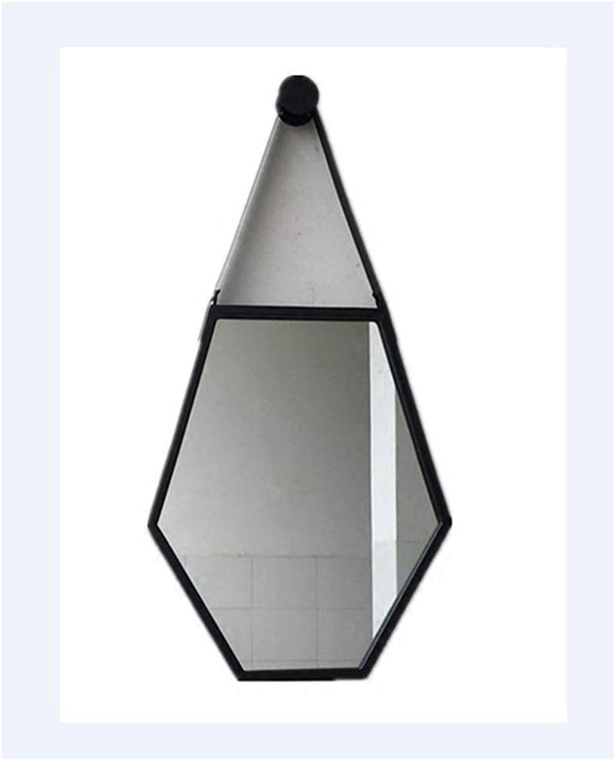 YYF Nordic Hexagonal Bathroom Dressing Wall Mounted Mirror 20 inches  26 inches (50cm  65cm)