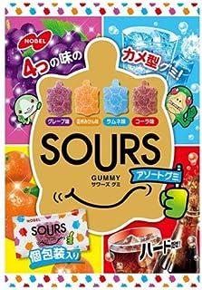 ノーベル製菓 サワーズ(SOURS)アソートグミ 100g×6袋入×(2ケース)