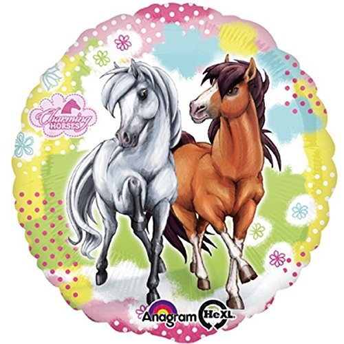 falksson Fogli Palloncino Charming Horses{2}, 43 cm