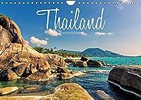 Thailand Impressionen (Wandkalender 2022 DIN A4 quer): Das Koenigreich Thailand beeindruckt mit paradiesischen Traumstraenden, gewaltigen Naturlandschaften, spektakulaeren Tempelanlagen und kulinarischen Genuessen. (Monatskalender, 14 Seiten )