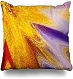 Kay Sam Fundas de Almohada, púrpura, Rojo, Creativo, diseño Abstracto, patrón de producción metafísica, decoración, Naranja, Textil Moderno, Estampado de Moda, Fundas de cojín
