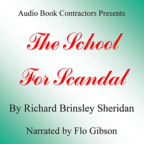 The School for Scandal cover art