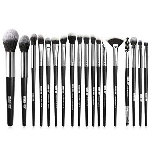 Set Beauté Cosmétique Brush, Pinceaux Cosmétiques Maquillage pour Le Visage Blush Lip Shadow Eyeliner Foundation Pinceaux Maquillages