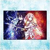 SDGW Sword Art Online Hot Anime Art Lienzo Póster Imágenes para Hotel Bar Cafe Decoración De Sala De Estar Regalo-60X80Cm Sin Marco