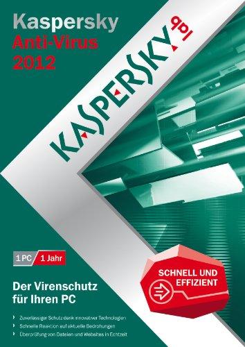 Kaspersky antivirus 2012 (1 poste, 1 an) [import allemand]