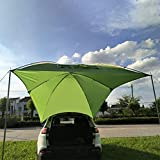 Car Awning Portable Car Rear Car Side Tent Outdoor Camping Multi-Person Rainproof Shade Truck Tent Awning for Camping