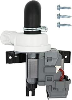W10536347 Washer Drain Pump by AMI PARTS Compatible with Whirlpool Kenmore Maytag Washer-Replaces 2392433 8542672 AP5650269