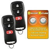 Discount Keyless Key Fob Keyless Entry Car Remote For Nissan Infiniti KBRASTU15, CWTWB1U733 (2 Pack)