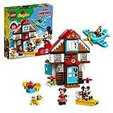 LEGO DUPLO Disney - Casa de Vacaciones de Mickey Nuevo juguete de construcción con los Personajes de Disney, incluye...