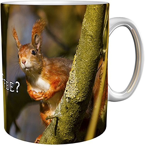 metALUm Kaffeetasse Eichhörnchen # 330010116