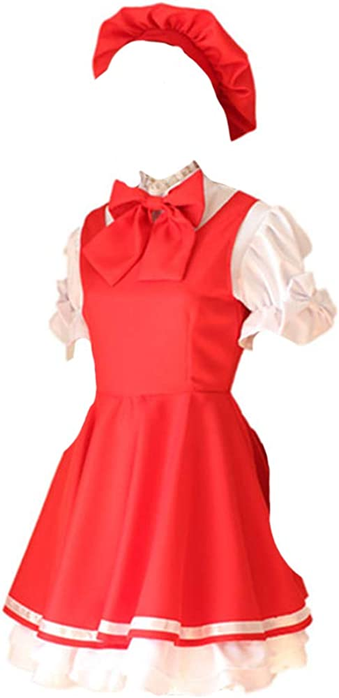 Anime Cardcaptor Sakura Sales of SALE items from new works Cosplay Kinomoto Un Max 59% OFF Maid Costumes