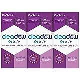 オフテクス cleadew(クリアデュー)O2セプト135ml、中和錠30錠、レンズケース付【3箱セット】洗浄・消毒・タンパク除去(ハード用)