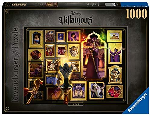 Ravensburger Puzzle 15023 - Villainous Jafar - 1000 Teile Puzzle für Erwachsene und Kinder ab 14 Jahren, Disney Puzzle-Motiv mit Figuren aus Aladdin