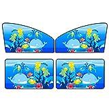 4 Stücke Auto Vorne Heckscheibe Vorhang Bildschirm Sonnenschutz Anti-Uv-sonnenschirme Schützen