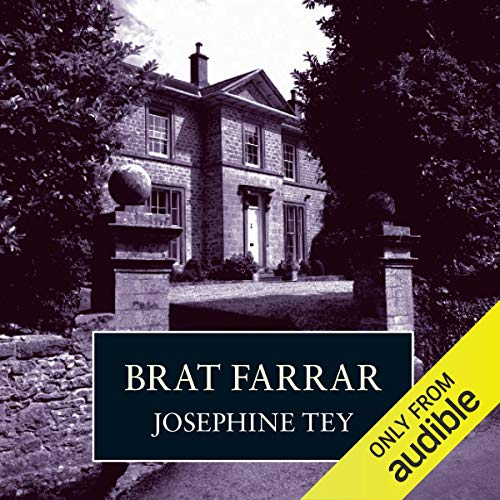 Brat Farrar audiobook cover art
