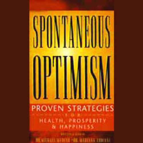 Spontaneous Optimism audiobook cover art