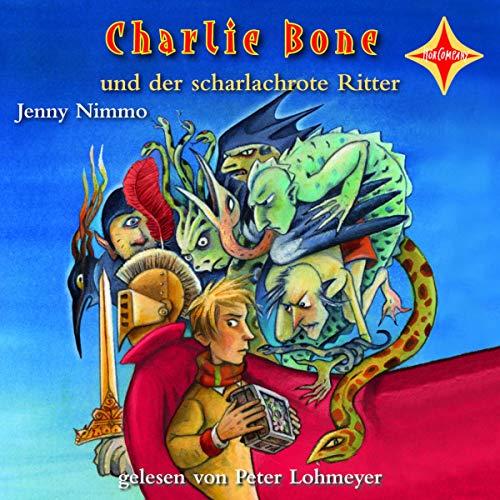 Charlie Bone und der scharlachrote Ritter Titelbild