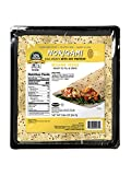 Norigami Egg Wraps Soy Protein-High Protein, Low Carb, Vegetarian Thin Healthy Wrap for Sandwiches-Ready To Fill And Serve-Certified Kosher,Non GMO,Gluten Free-6 Wraps-Soy Wrap Sesame Seeds (1 Pack)