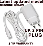 Braun Power Supply CHARGER for Epilator & Lady Shave. 2 YEAR GUARANTEE. Legs, Body &...