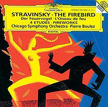 ストラヴィンスキー:《火の鳥》《花火》、管弦楽のための4つの練習曲