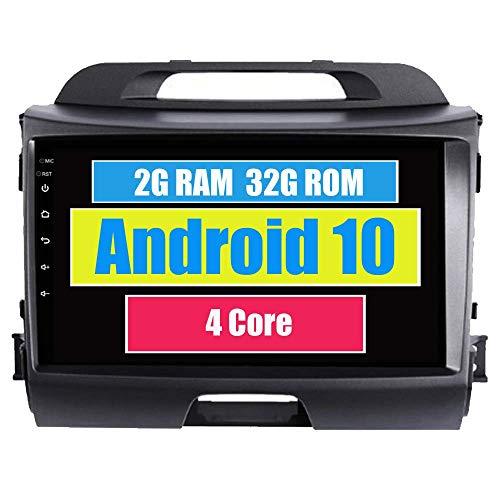 Autoradio autoradio per Kia Sportage R 2012 2013 2014 2015 con Lettore multimediale Android Navigazione GPS Touch Screen Bluetooth WiFi USB Mirror Link