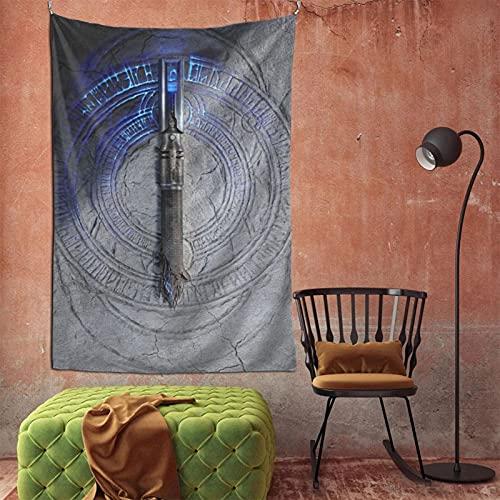 Star Yoda Wars Jedi Fallen Order Tapestry Wall Hanging Home Decor TV Backdrop Living Room Bedroom Dorm Bedding Tapestry 60 X 90 In