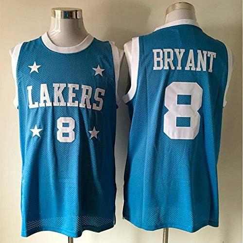 Men's Sleeveless Basketball Jersey - Los Angeles Lakers#8 Kobe ...
