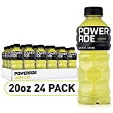 POWERADE, Electrolyte Enhanced Sports Drinks w/ vitamins, Mountain Berry Blast, 20 fl oz, 24 Pack