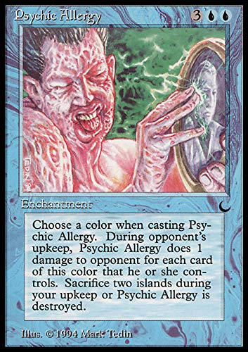 Magic: the Gathering - Psychic Allergy - The Dark