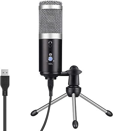 decaden Microfono USB Audio Microfono USB Computer Microfono Strumento di Registrazione Microfono Chat Vocale dal Vivo - Trova i prezzi più bassi