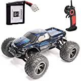 GPTOYS RC Car Vehicle 1/12 Luctan Remote Control Vehicle 2WD 2.4 GHz Semi-Waterproof Monster Truck Truggy --- Best Birthday Gift for Children (The Third Generation)