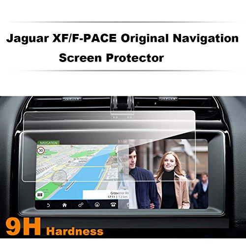 LFOTPP Jaguar F-Pace X761 / XF XFR X260 10,2 Zoll Navigation Schutzfolie - 9H Kratzfest Anti-Fingerprint Panzerglas Bildschirmschutzfolie GPS Navi Folie