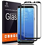 MP-MALL Screen Protector for Samsung Galaxy S8, [Tempered Glass] [Full Cover]...